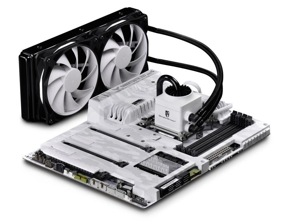 CAPTAIN 240 WHITE CPU Liquid Cooler