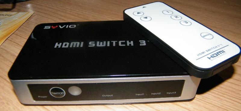 Syvio HDMI Switch 3 Close Up
