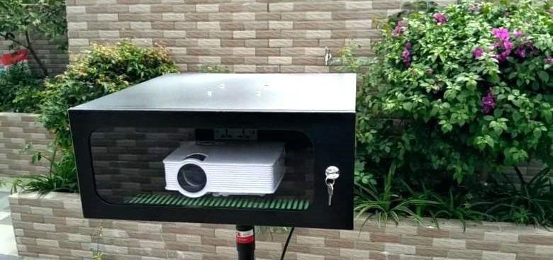 Outdoor Waterproof Projector Box