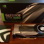 Nvidia GeForce GTX 1080 Unpack