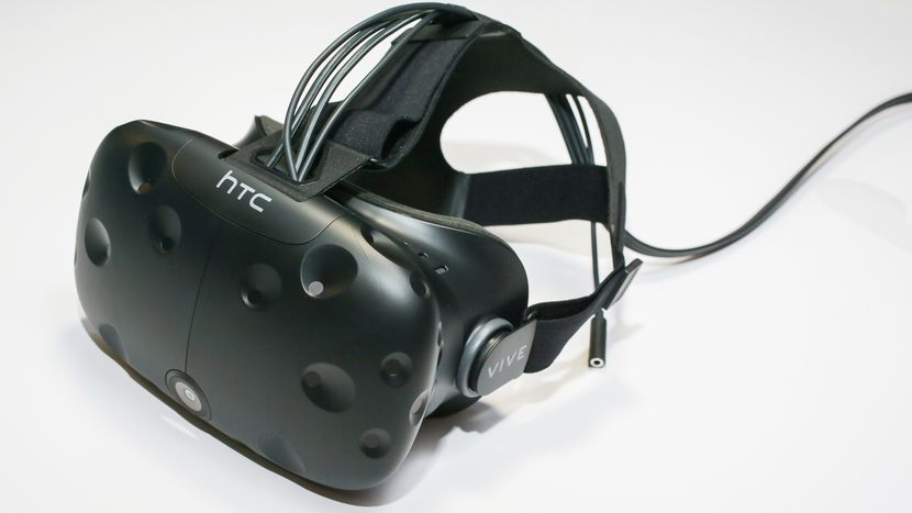 htc vive close up