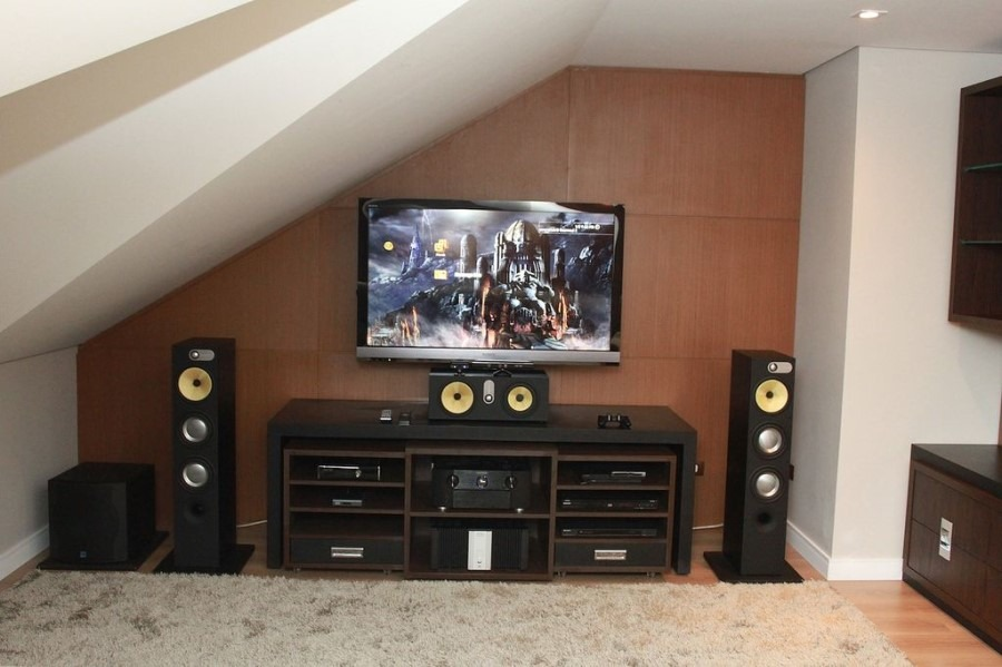 Home Theater Gaming Room Design