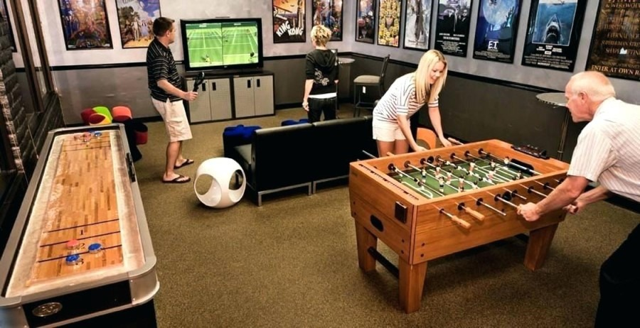 Game Room Kids and Adults