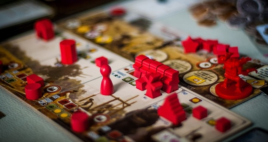 Scythe Board Game Close Up