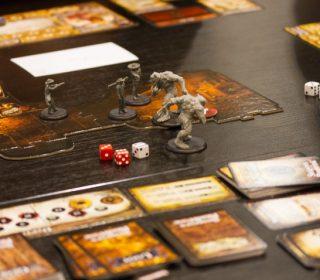 Shadows of Brimstone Board Game Close Up