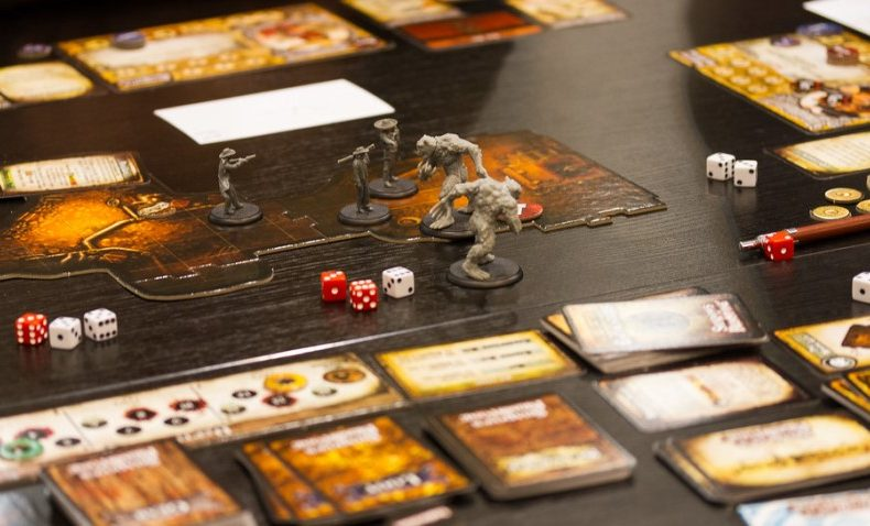 Shadows of Brimstone Board Game Close Up