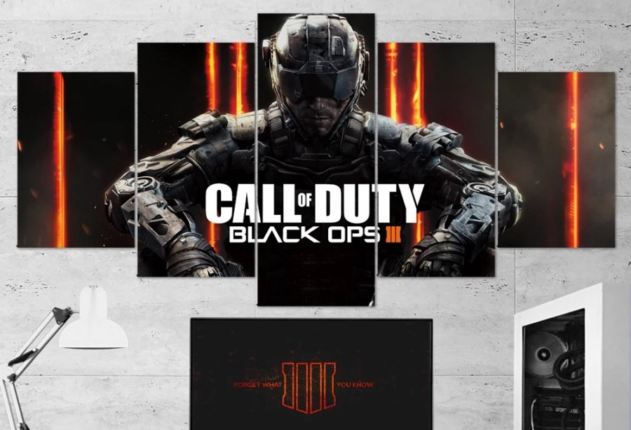 Call of Duty Black Ops Canvas Wall Art