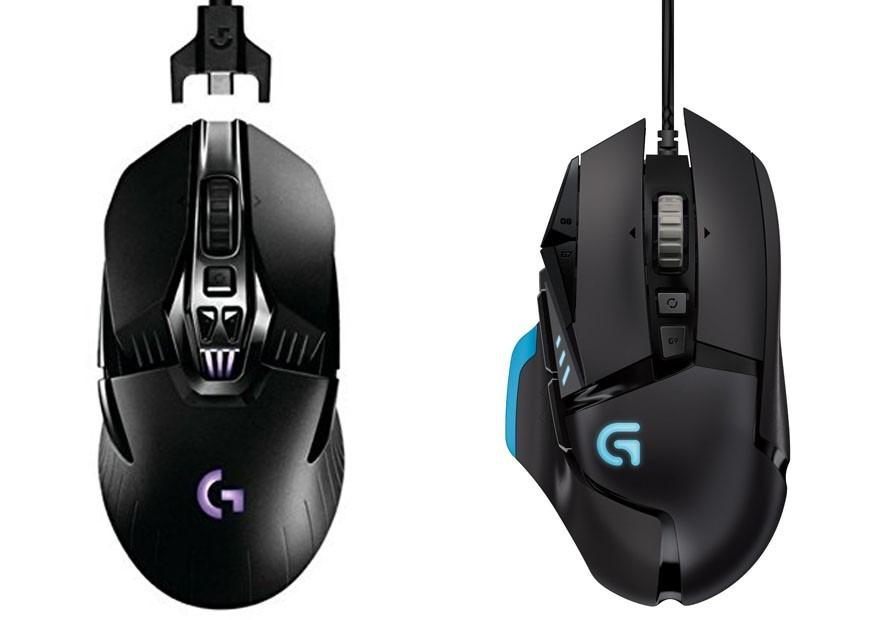 Logitech G900 vs G502
