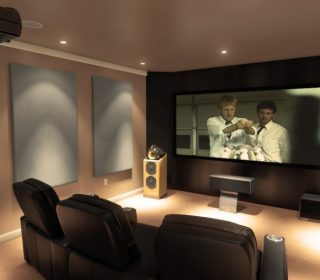 Home Theater Projector Room