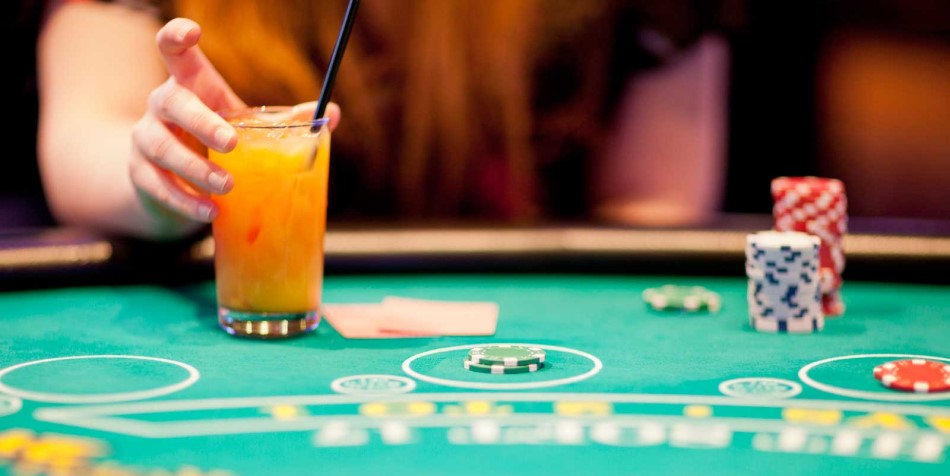 Poker Table Drink