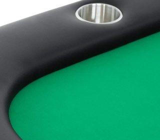 Poker Table Helmsley Green Felt