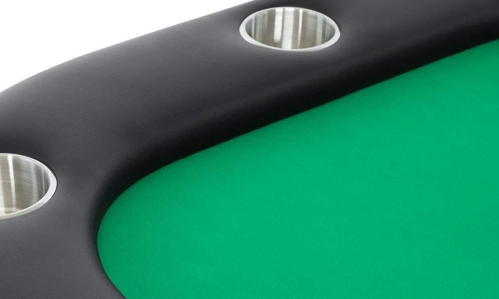 Poker Table Helmsley Green Felt